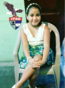 Candidata a Reina de las Flores 5to y 6to Grado Maria Fernanda Almendarez