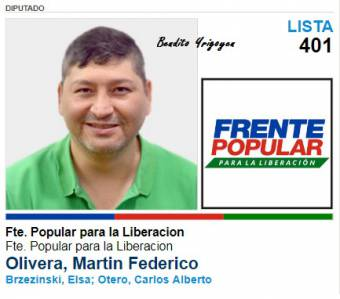 Martin Olivera-Lista 401