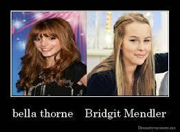 por que bella y bridgit son myu pero muy y miles de veces guapas