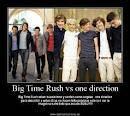 one directionvs big time rush