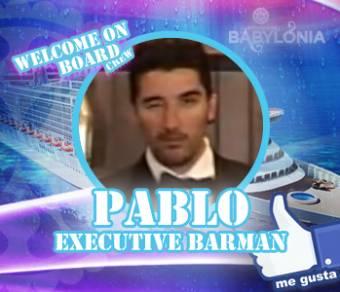 PABLO (Executive Barman)