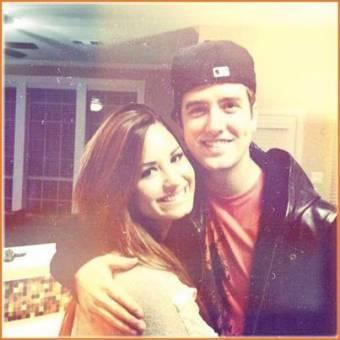 Logan y su Amiga Demi Lovato