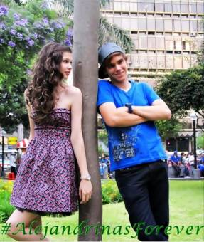 Nicole Dileo y Alejandro Avilez