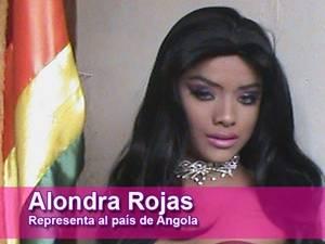 Alondra Rojas - Miss Angola