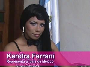 Kendra Ferrani - Miss México