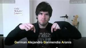 GERMAN GARMENDIA