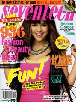 Selena Gomez en Revista.
