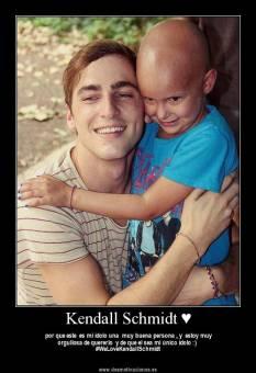 Kendall Schmidt es el chico mas caritativo de BTR