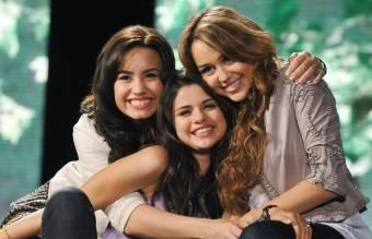 Selena,Miley,Demi