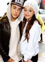 Pareja 1 Justin Bieber y Ariana Grande