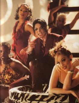 the KING OF POP Michael Jackson ;)