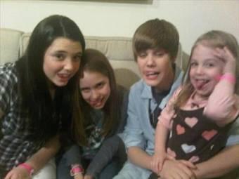 Justin y una fan