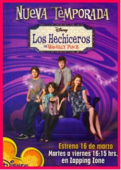 los hechiceros de weverly place