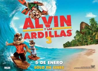 Alvin & Las Ardillas 3