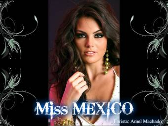 Miss Mexico (Forista: Amel Machado)