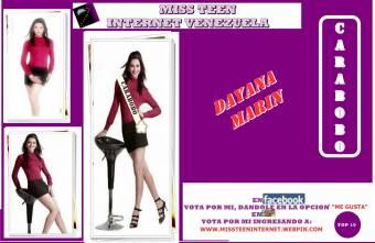 Miss Teen Internet Carabobo-Dayana Marin