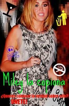 MILEY LA COPIONA