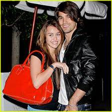 Miley Cyrus y Justin Gaston