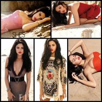 Selena Gomez revista Elle.