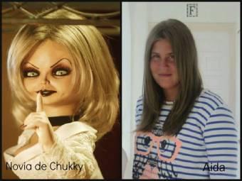 La novia de Chukky y Aida