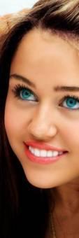 Miley cyrus Ojos.
