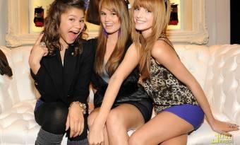 Bella,Zendaya y Deby