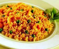 Un plato de arroz
