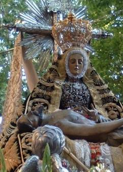 Virgen de las Angustias ( Granada )