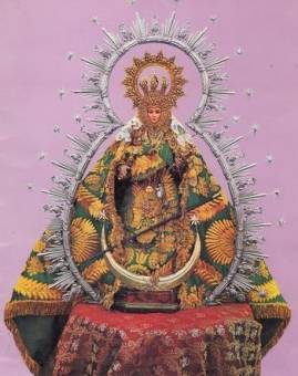 Virgen de Fuensanta ( Huelma )