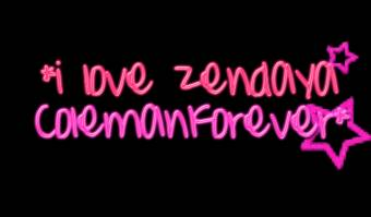 con amor para zendaya.
